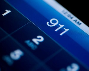 Calling 911 from cell phone